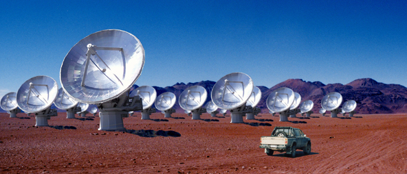 Europe, Japan and North America Prepare for Joint Construction of the Giant Radio Telescope