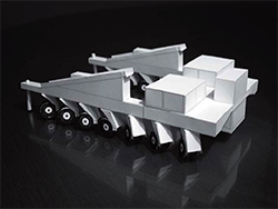 アルマ望遠鏡移動台車