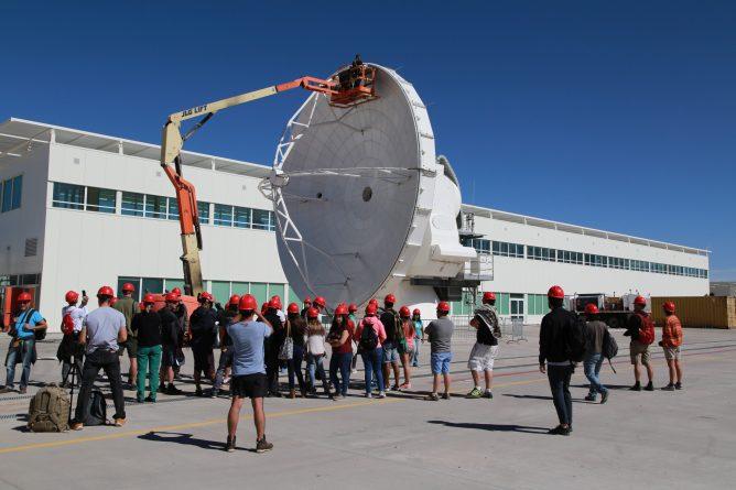 アルマ望遠鏡山麓施設の一般見学