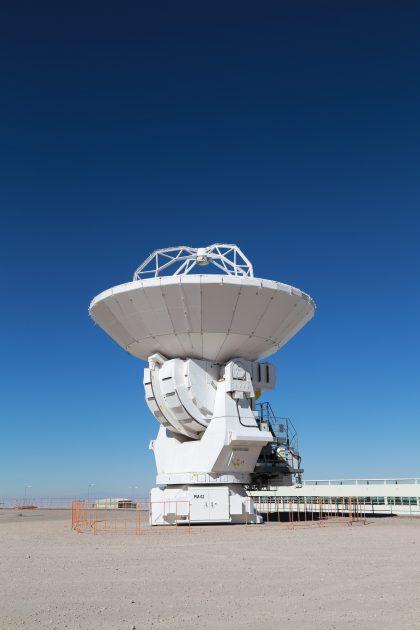 ACA 12m antenna at OSF