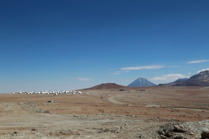 Vast expanse of ALMA Array Operations Site