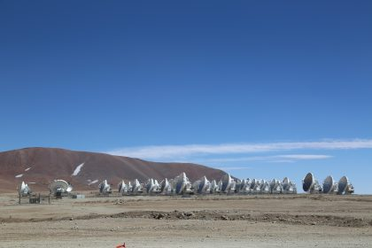 ALMA Antenna Forest