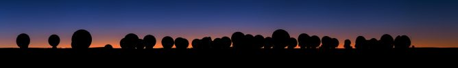 日暮れのパノラマ
