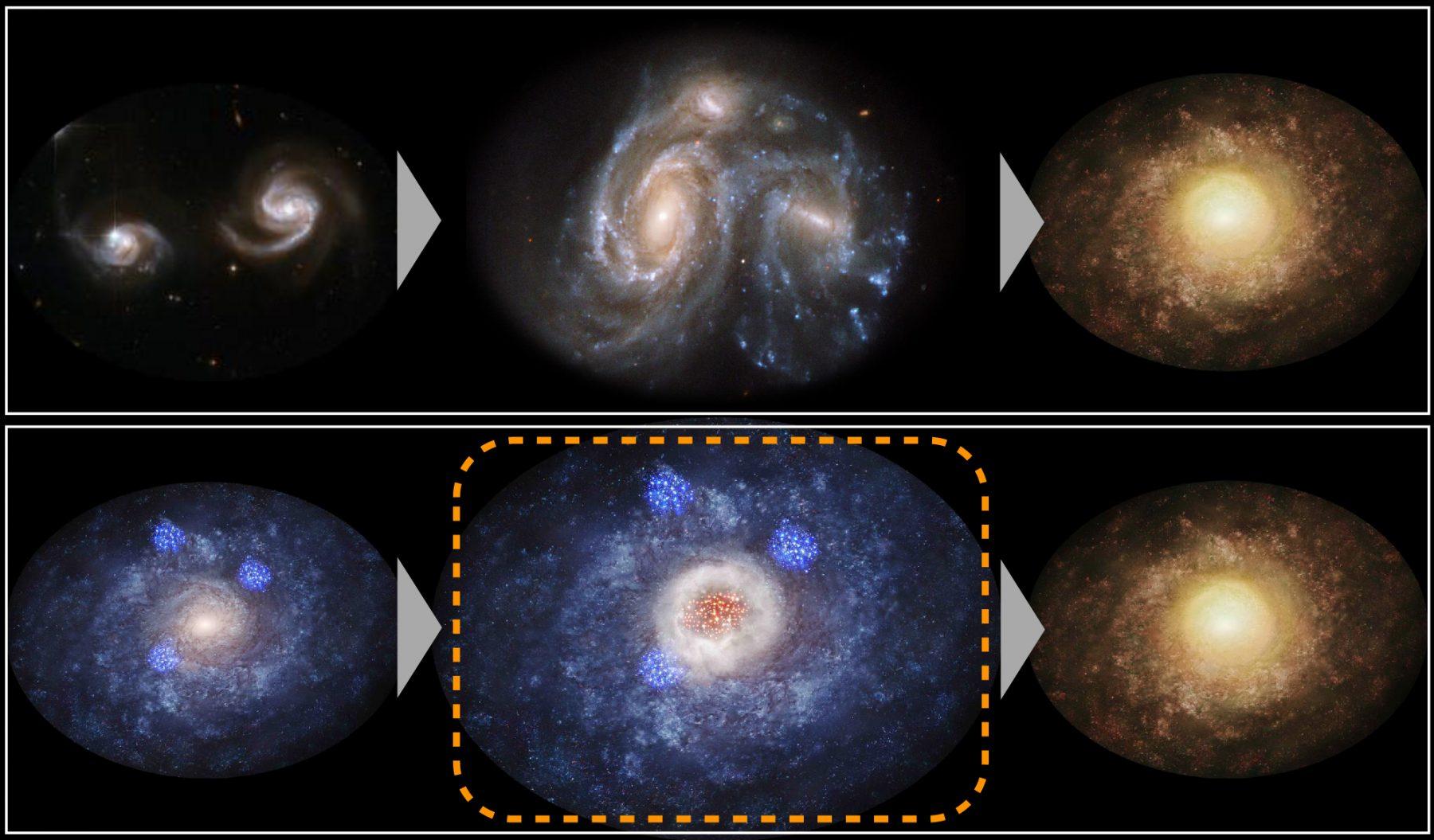 銀河の形を運命づけたものは?