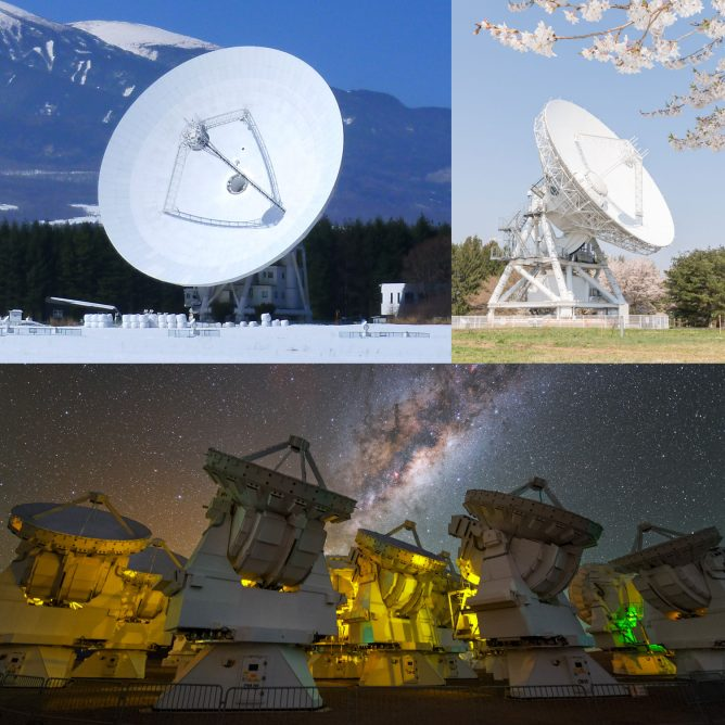 High-Sensitivity Radio Telescope and Supercomputer for Astronomy Selected as IEICE Milestone