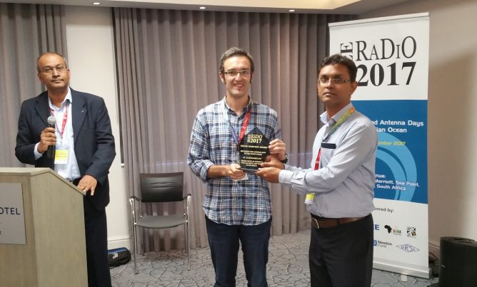 "Alvaro Gonzalez Wins ""IEEE RADIO 2017 Young Scientist Award"""