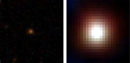 Image of a DOG, WISE1029 (SDSS/WISE)