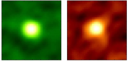 銀河WISE1029中の一酸化炭素と塵からの電波(アルマ望遠鏡)