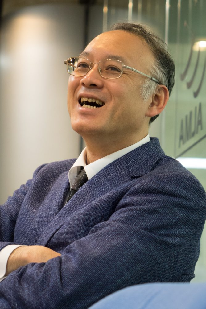 Jun-ichi Watanabe (Professor, Vice-Director General of NAOJ)<br />