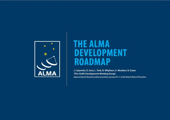 ALMA Development Roadmap has been published