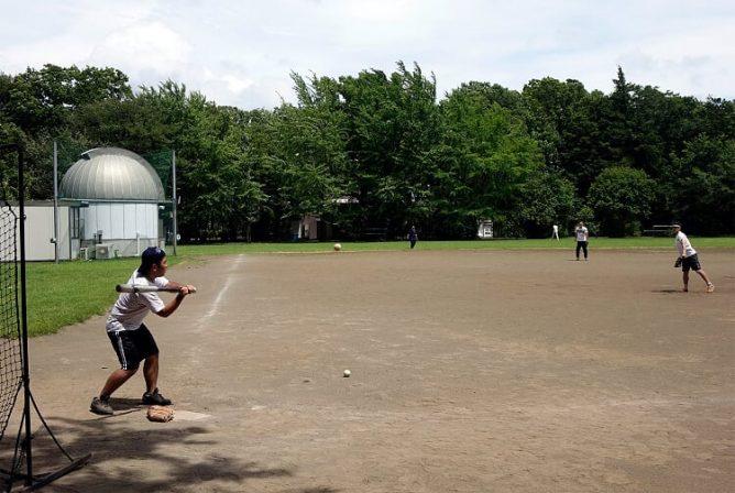野球部の活動