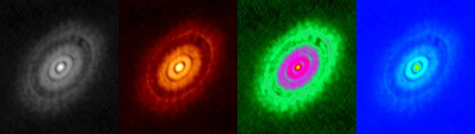 HL Tauri, observed with ALMA