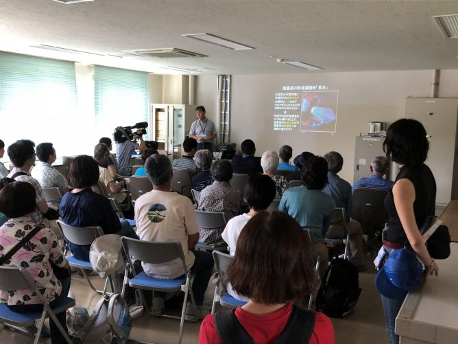 Exhibition of ALMA at Nobeyama Open Campus 2018