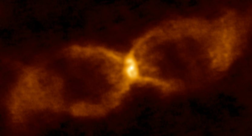 Dust around the stellar collision, CK Vul