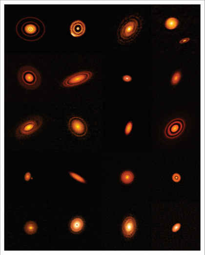 ALMA's high-resolution images of nearby protoplanetary disks