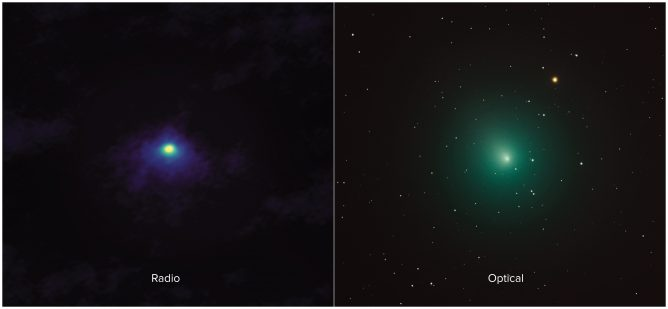 ALMA Gives Passing Comet Its Close-up