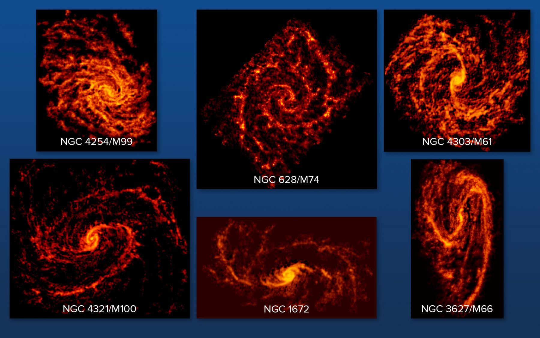 Ultra-sharp images of galaxies