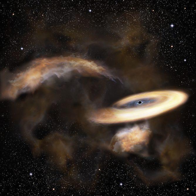ガス雲を振り回す野良ブラックホール -天の川銀河中心近傍に潜む中間質量ブラックホールのより確かな証拠