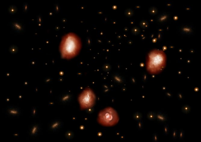 ALMA Identified Dark Ancestors of Massive Elliptical Galaxies - Unexpected Hidden Galaxies Question Theories of Universe Evolution