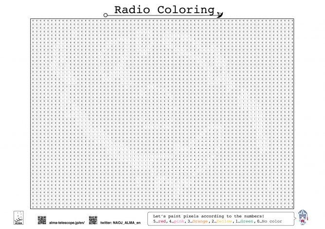 Radio Coloring: M77
