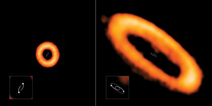 若い連星系HD 98800 Bとさそり座AK星の周連星系円盤