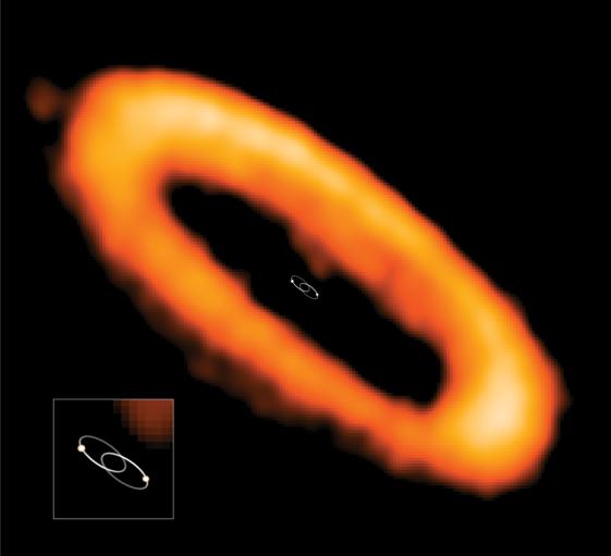 連星系で作られる惑星の軌道の謎に迫る