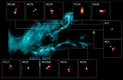 おうし座分子雲と星の卵たち