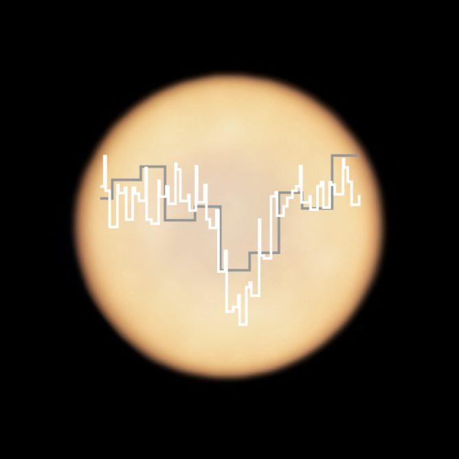 Phosphine signature in Venus's spectrum