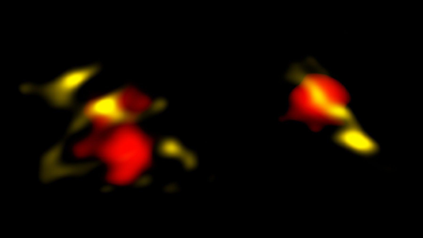 成熟していた若い銀河たち