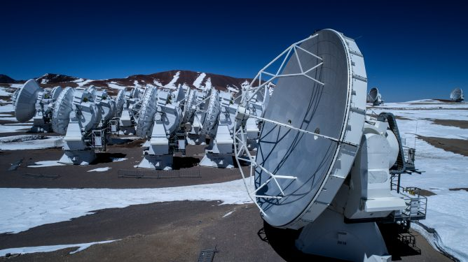 ALMA starts the process of recovering the telescope array