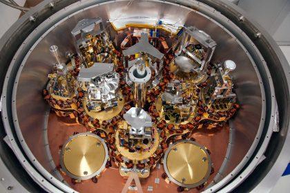 Inside ALMA cryostat