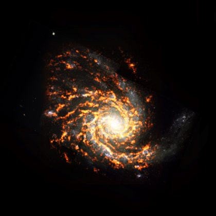 渦巻銀河NGC 4254
