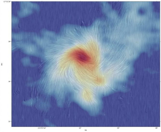 ALMA Observes Interplay between Magnetic Force and Gravity in Massive Star Formation