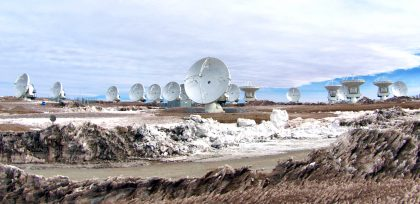 16 antennas at AOS
