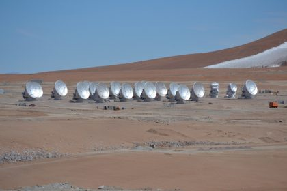 22 antennas at AOS