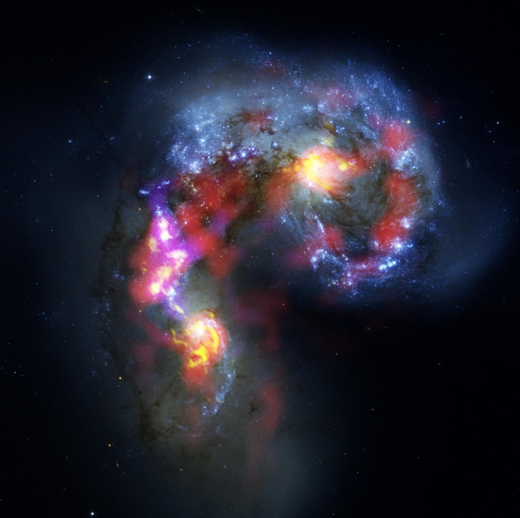 The Antennae Galaxies observed with ALMA