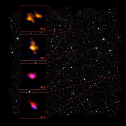 Distant galaxies in the COSMOS field