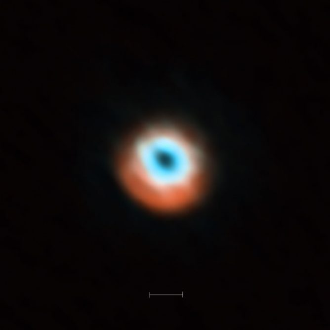 ALMA Reveals Planetary Construction Sites