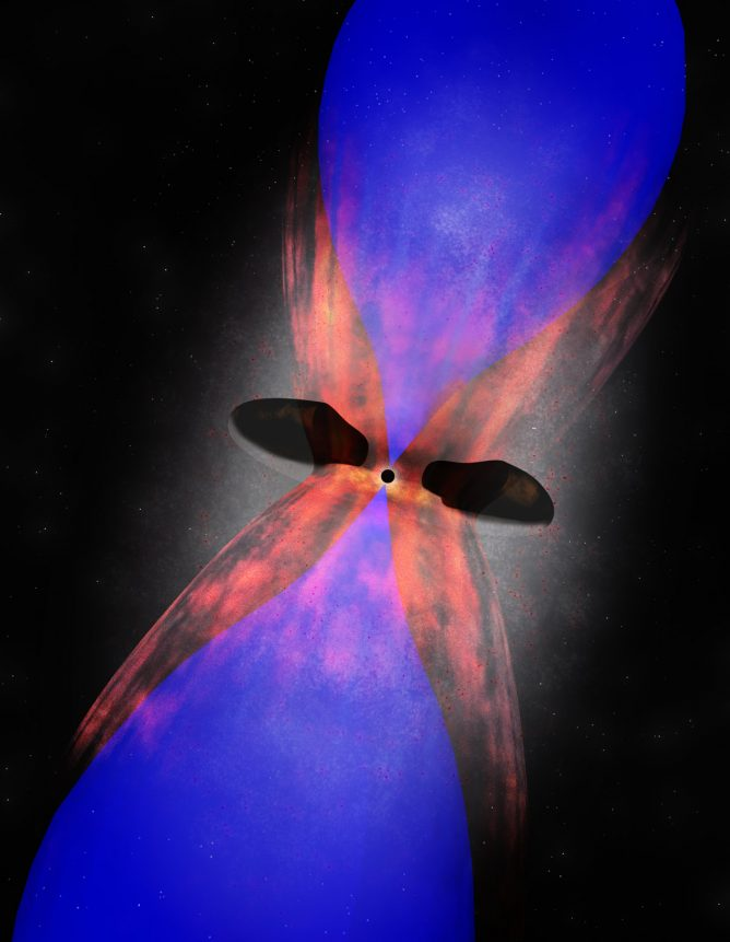 Black-Hole-Powered Jets Forge Fuel for Star Formation
