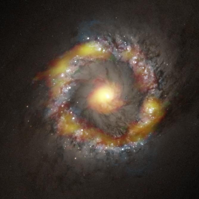 アルマ望遠鏡によるブラックホールの精密体重測定