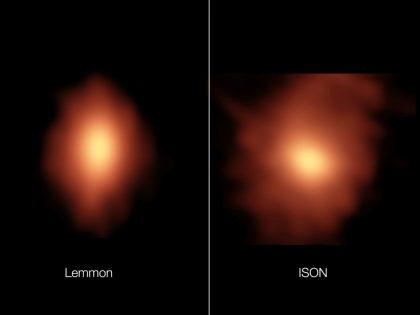レモン彗星とアイソン彗星