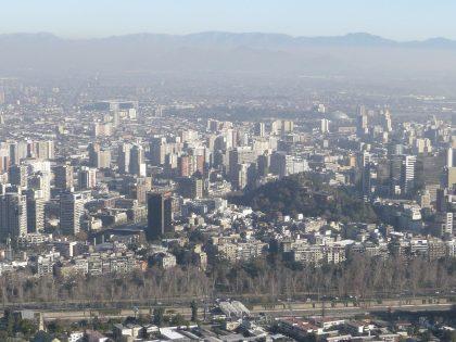 サンティアゴの街並み