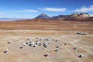 アルマ望遠鏡山頂施設 (AOS)空撮