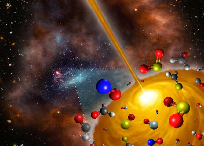 銀河系外ホットコアを初検出!—生まれたばかりの星を包む暖かい分子の雲—