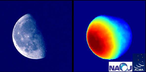 図4. 最初の月の撮影